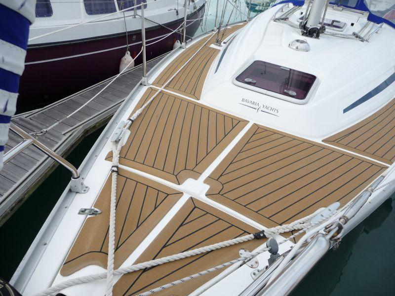 Bavaria 32 passavants en teck de synth se ile d oleron corsitek christoph - Pied de table bateau ...